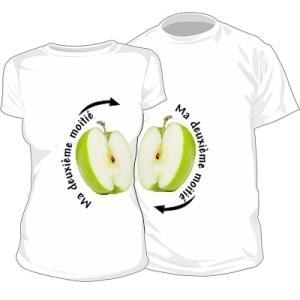 1036-cs400-lot-de-2-t-shirts-pour-amoureux-pomme