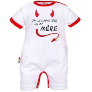 1431-cs400-barboteuse-bebe-drole-j-ai-le-caractere-de-ma-mere